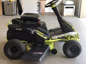 """Electric riding lawn mower 38"""" for Sale in Porter, TX"""
