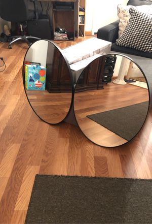 Oval black wood trim mirrors for Sale in Fort Lauderdale, FL