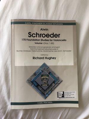 Beginner Cello Books (Schroeder and Klengel) for Sale in Alhambra, CA
