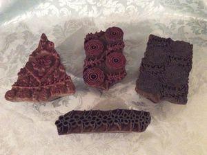 Nice Antique Wood Print Blocks for Sale in Bauxite, AR