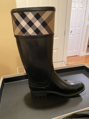 Burberry rain boots for Sale in Dearborn Heights, MI