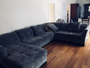 Long sectional, very Comfortable for Sale in Silver Spring, MD