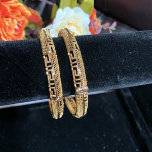 gold plated bangles . 2 years guarantee . one pair for 20$ for Sale in Arlington, VA