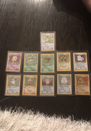 pokemon original cards for Sale in Dearborn Heights, MI
