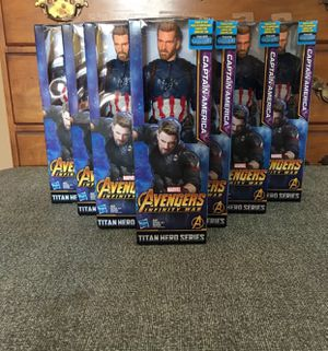 Avengers Captain America 12 in Figure for Sale in South Euclid, OH