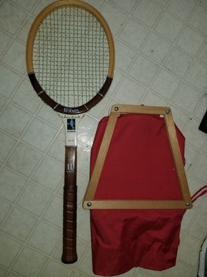Old wooden tennis rackets for Sale in Greensboro, NC