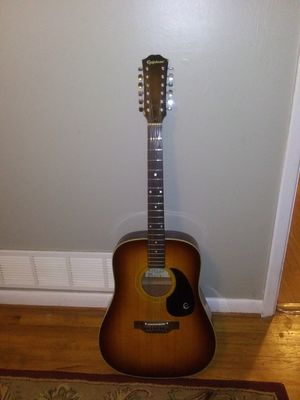 1978 Epiphone FT-160 Texan 12 String Guitar for Sale in Marietta, GA