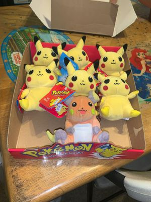 Pokemon Pikachu 1995-1996 collectibles for Sale in Compton, CA
