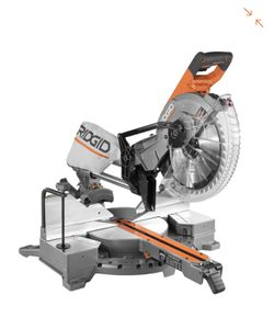 RIDGID 15 Amp Corded 12 in. Dual Bevel Sliding Miter Saw with 70° Miter Capacity for Sale in Renton,  WA