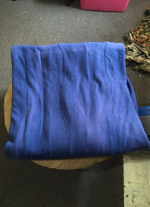 Blue Electric Blanket for Sale in West Mifflin, PA