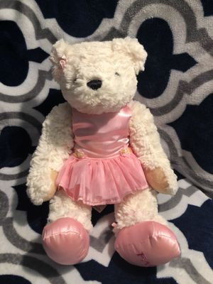 cute white pink ballerina teddy bear for Sale in Paramount, CA