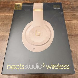 BEATS STUDIO 3 WIRELESS HEADPHONES SKYLINE COLLECTION NOISE CANCELING RARE COLOR (BRAND-NEW; AUTHENTIC) for Sale in Denver, CO