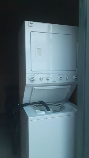 I have a stackable washer and dryer for sale for Sale in Wellington, KS