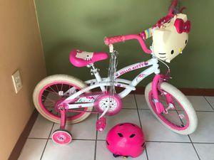 "16"" Hello Kitty Bike w/ Case and Helmet for Sale in Cutler Bay, FL"
