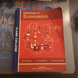 Essentials Of Economics for Sale in Ridgefield,  WA