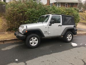 Jeep Wrangler 4x4 2007 for Sale in Annandale, VA