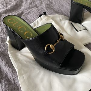 Gucci High Heel Slides for Sale in Holly Springs, NC