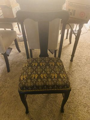 Antique chairs for sale. $30 for one, $55 for the set. for Sale in Raleigh, NC