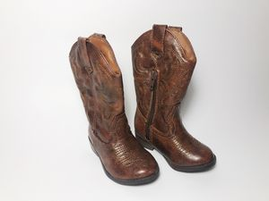Stevies Girls Boys Cowboy Cowgirl Boots Kids Toddlers size 5 for Sale in Boulder, CO