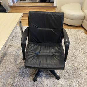 Black Leather office Chair for Sale in Bellevue, WA