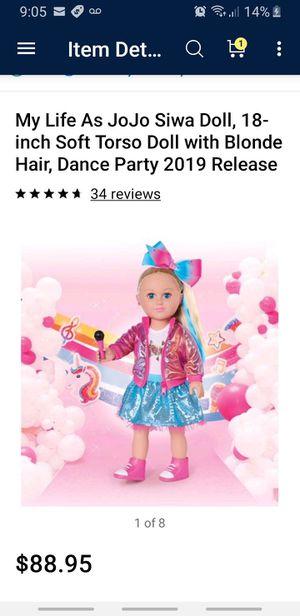 New jo jo doll 2019 for Sale in Miami, FL