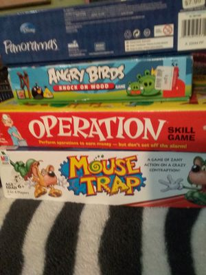 3 games 1 puzzle for Sale in Portland, OR