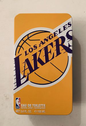 NBA Los Angeles Lakers Cologne by Air Val International with Metal Container for Sale in Los Angeles, CA