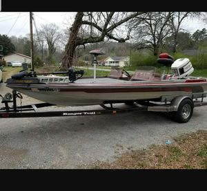 1986 Ranger Trail 373v Bass Boat for Sale in Trion, GA