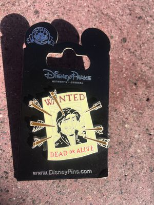 AUTHENTIC DISNEY PINS EUGUEN WANTED POSTER PIN for Sale in San Diego, CA