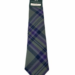 Lochcarron Of Scotland Highlander Collection Heather Isle 100% Wool Plaid Boy's Tie for Sale in Aloha, OR