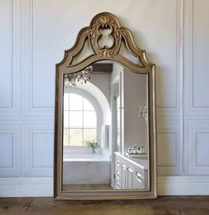 Vintage French Provincial Dresser Mirror Wall Vanity Entryway Accent - delivered* for Sale in Los Angeles, CA