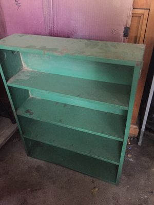 Metal green shelving for Sale in Sacramento, CA