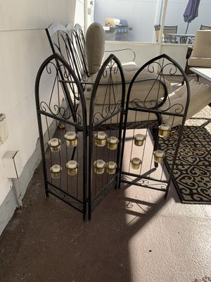 Outdoor candle holder for Sale in Staten Island, NY