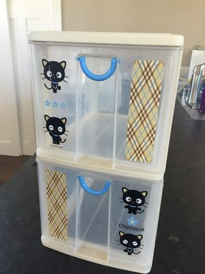 Choco cat small 2 drawer storage for Sale in Seattle, WA