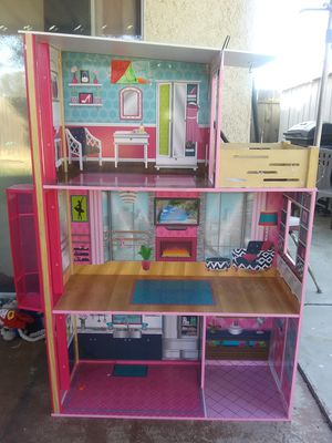 Barbie house with elevator for Sale in Fresno, CA