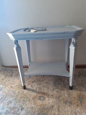 Bombay side table with faces for Sale in Kent, WA