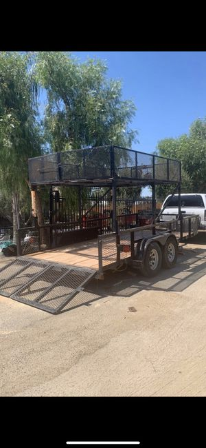 Utility trailer 16ft long by 82 inches wide for Sale in Menifee, CA
