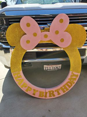 Minnie Pink & Gold Birthday Items for Sale in Whittier, CA