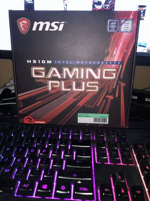 MSI Gaming Motherboard (H310) Intel for Sale in Glendale, AZ