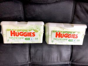 Huggies baby wipes pop-up tubs for Sale in Chicago, IL