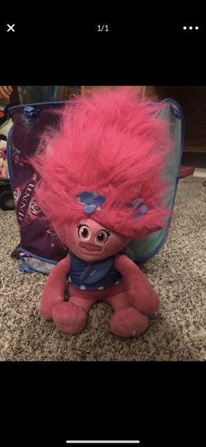 Troll blanket and doll for Sale in Stockton, CA