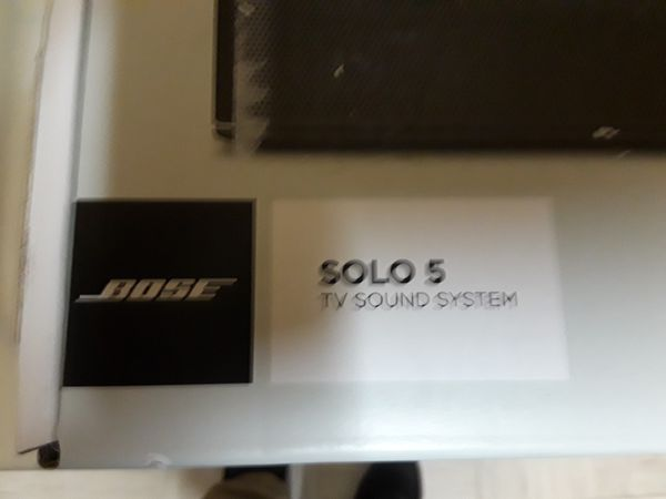 Brand New Bose Solo 5 Sound System