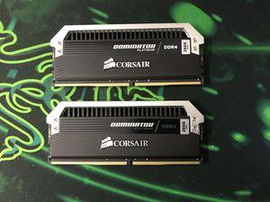 CORSAIR DOMINATOR PLATINUM 16GB RAM for Sale in Chester, VA