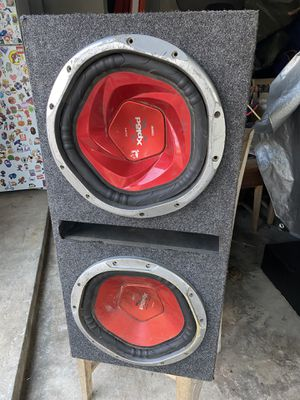 Speaker box subs Sony xplod 12 inch for Sale in Houston, TX