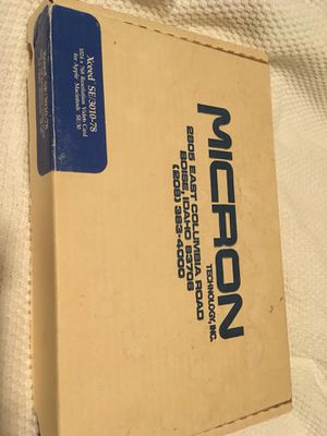 RARE vintage Micron Xceed color video card for Mac SE/30 for Sale in Houston, TX