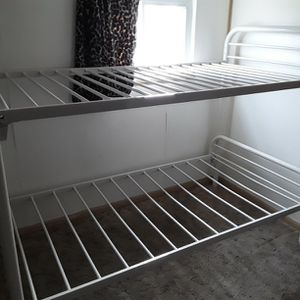 Bunk bed. Just Needs The Bolts And The Mattresses. for Sale in Uniontown, PA