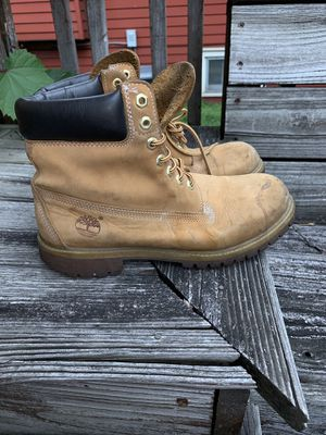 Timberland 6 inch wheat work boots size 9.5 for Sale in Hillside, IL
