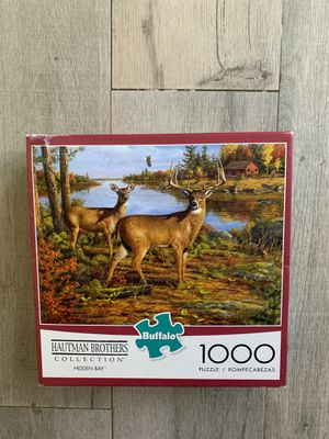 Buffalo Games Hautman Brothers Hidden Bay Puzzle, 1000 Piece for Sale in Miami, FL