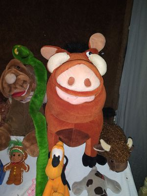 Disney Pumba Stuffed Animal for Sale in Lakeland, FL