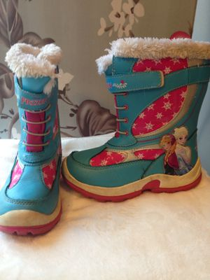 Kids snow boots size 12 for Sale in Reston, VA
